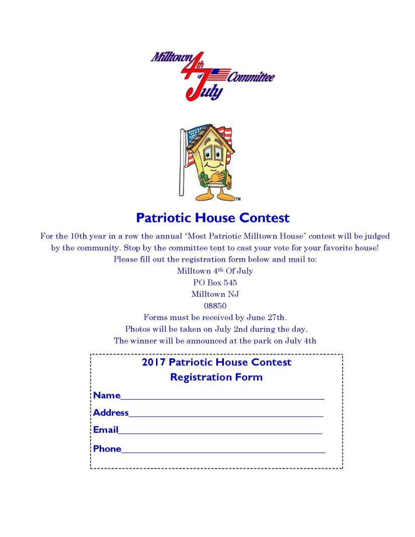 Patriotic House form 2017